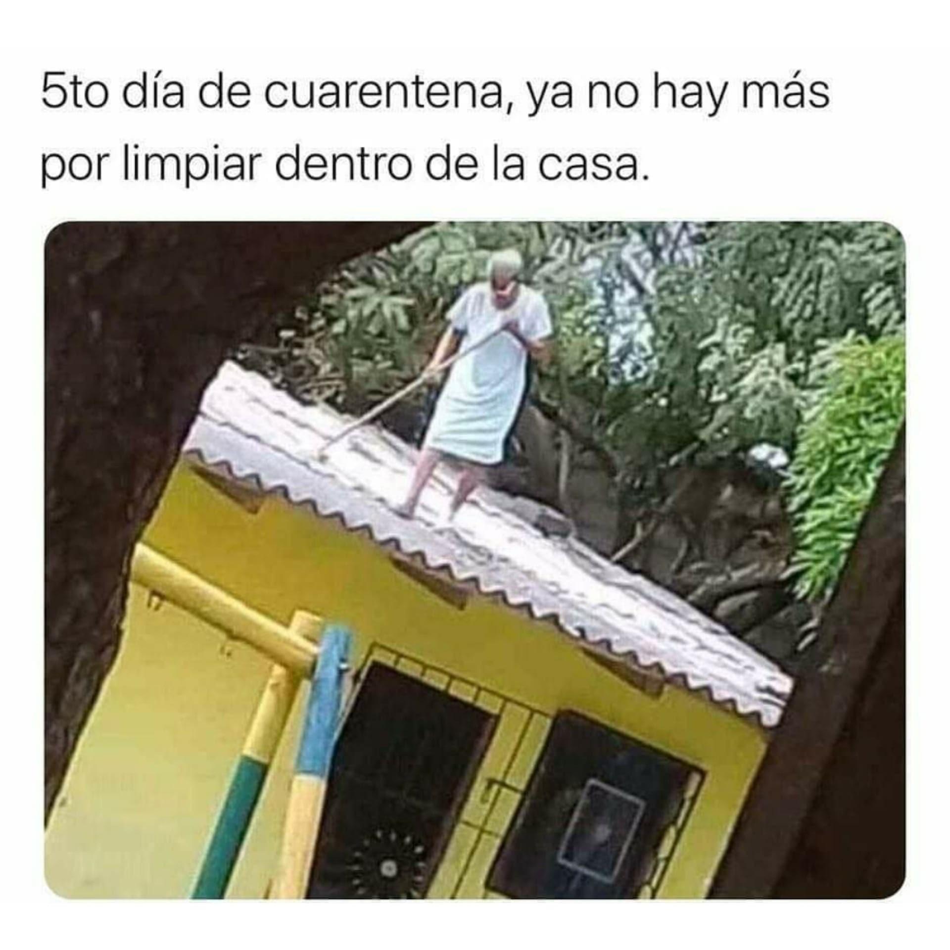 5to Dia De Cuarentena Meme Del Corona Viruz Memes Graciosos