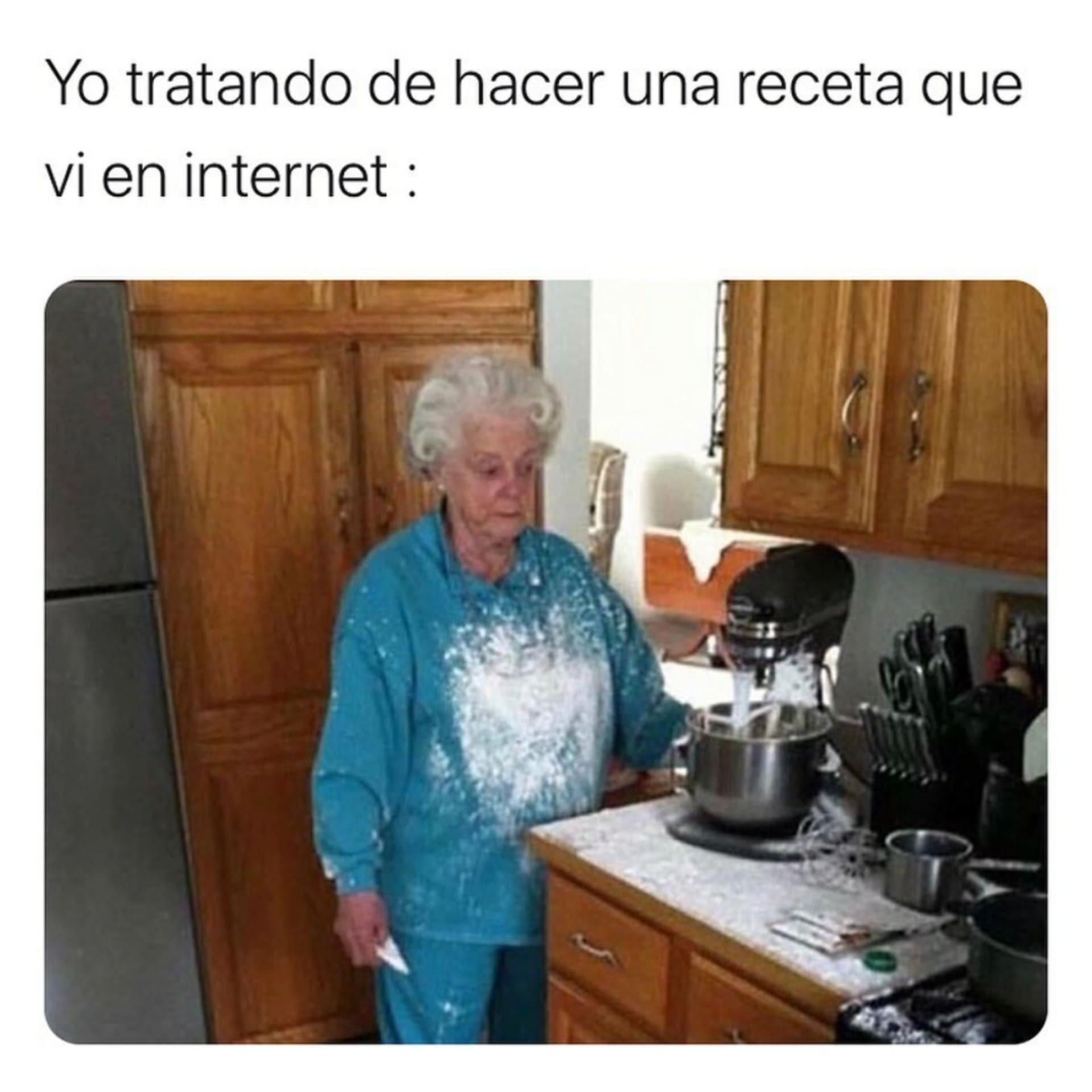 Aprendiendo A Cocinar En La Cuarentena Memes Graciosos