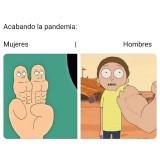 La-cuarentena-meme-Hombres-vs-Mujeres
