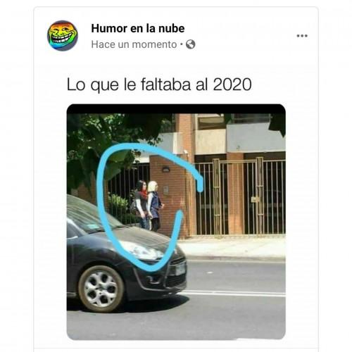 Lo que le faltaba al 2020 meme