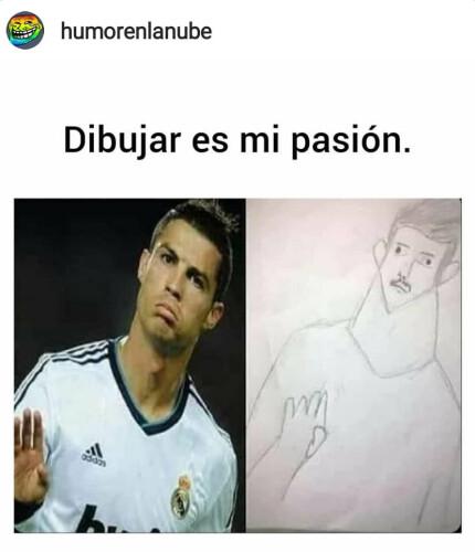 Un-meme-chistoso-de-dibujar-es-mi-pasion-Cristiano-Ronaldo.jpg