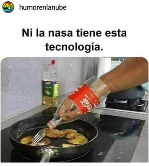 Ni la NASA tiene está tecnología meme