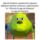 Un-meme-gracioso-App-de-limpieza-queda-poco-espacio